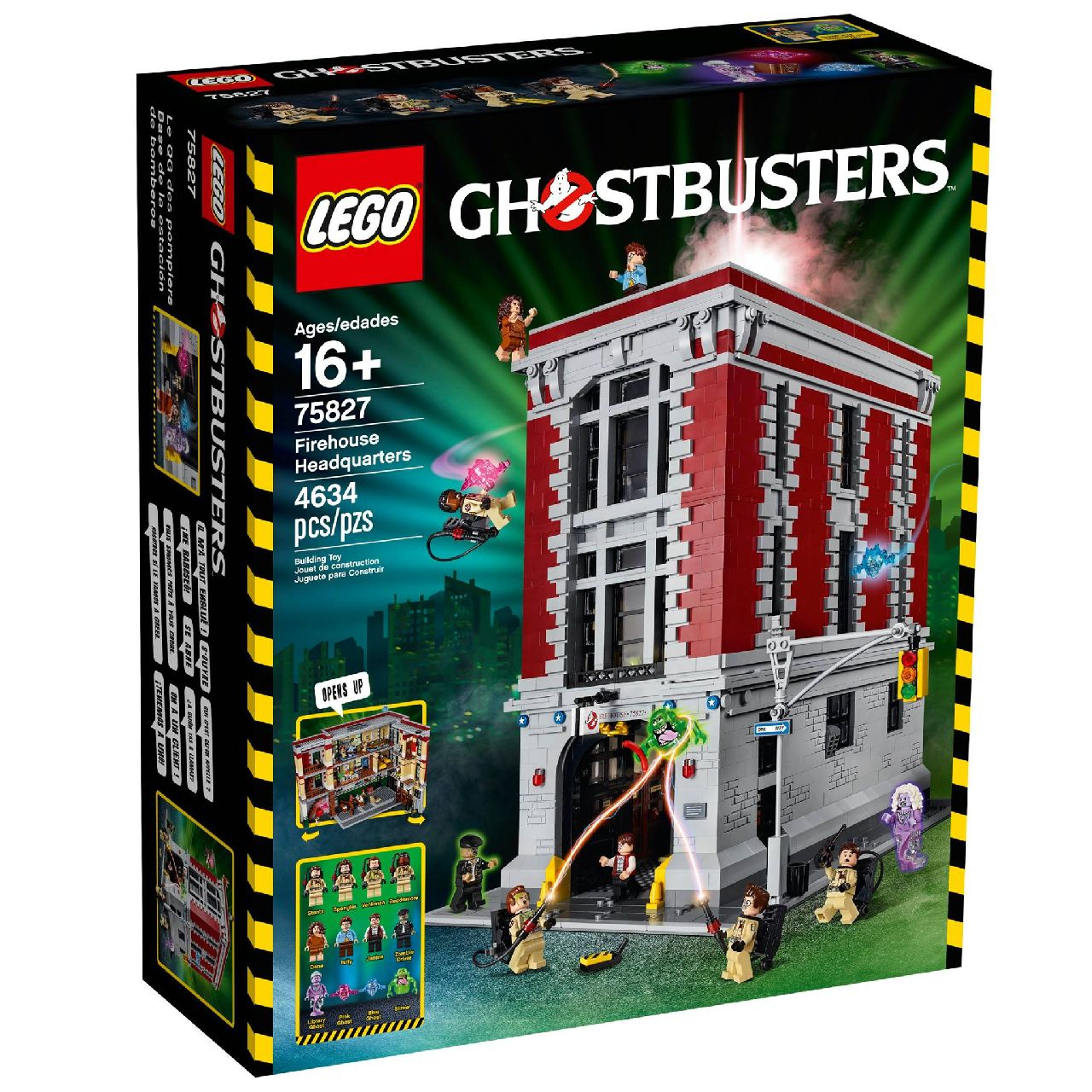 how to build lego ghostbusters