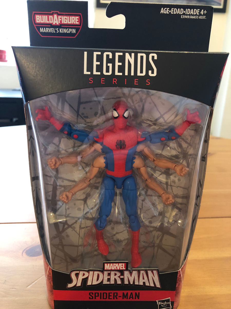 Marvel Spider-Man Infinite 6-inch Legends Series