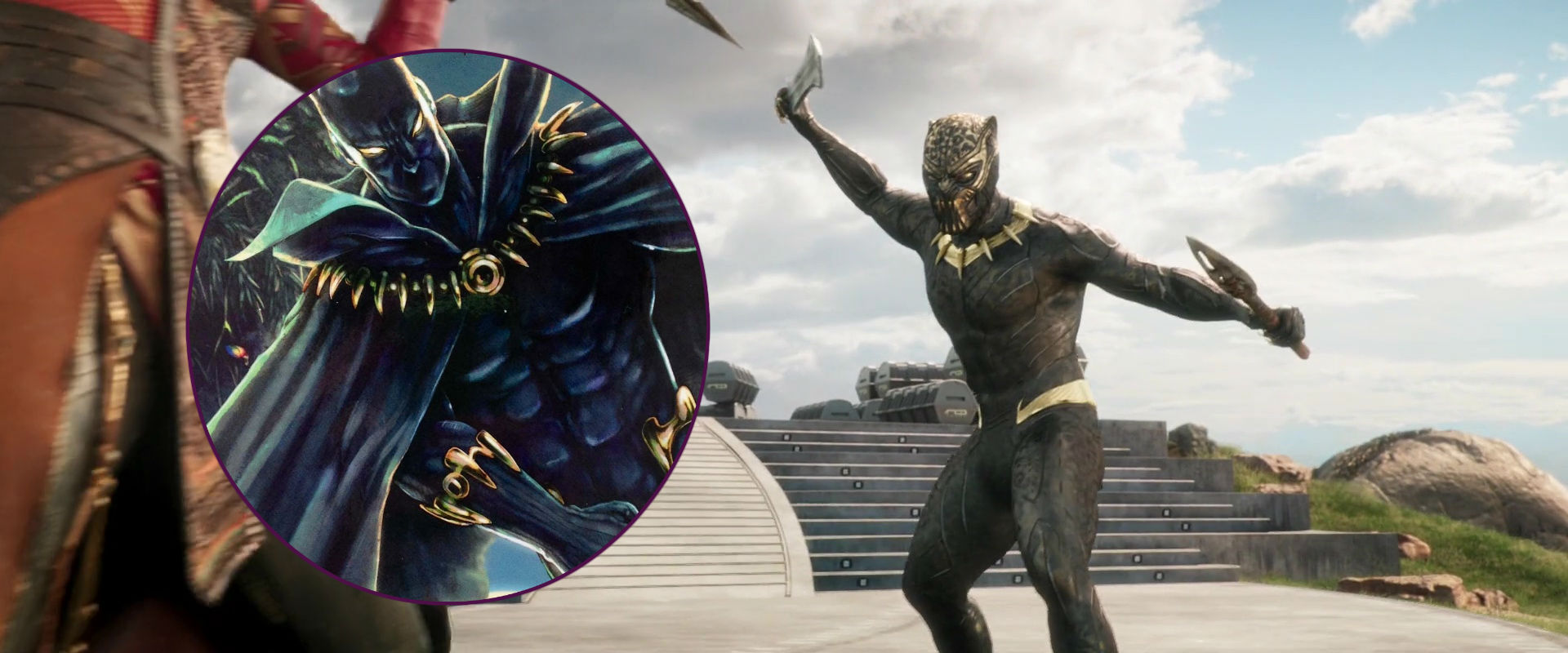 Gold Black Panther armor