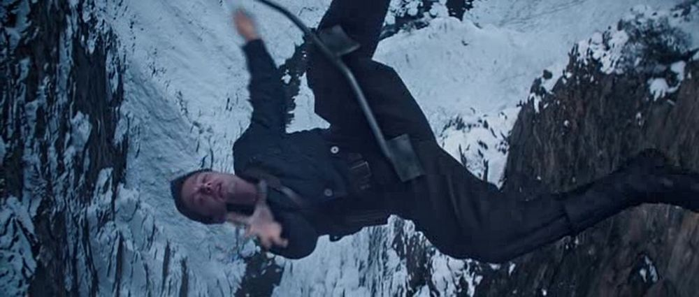 And Then Bucky Falls Down...