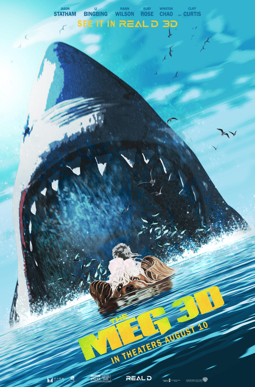 The MEG Real D poster