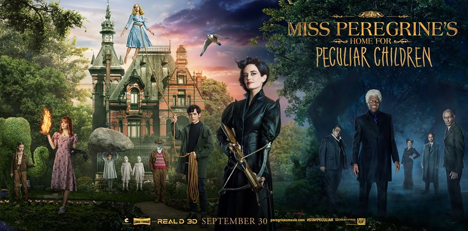 Miss Peregrine's Home for Peculiar Children (2016) Watch Online Full Movie