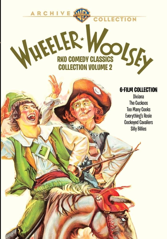 Wheeler & Woolsey RKO Comedy Classics Collection Volume 2