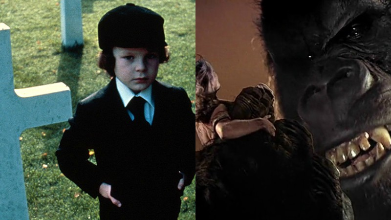 The Omen and King Kong (1976)