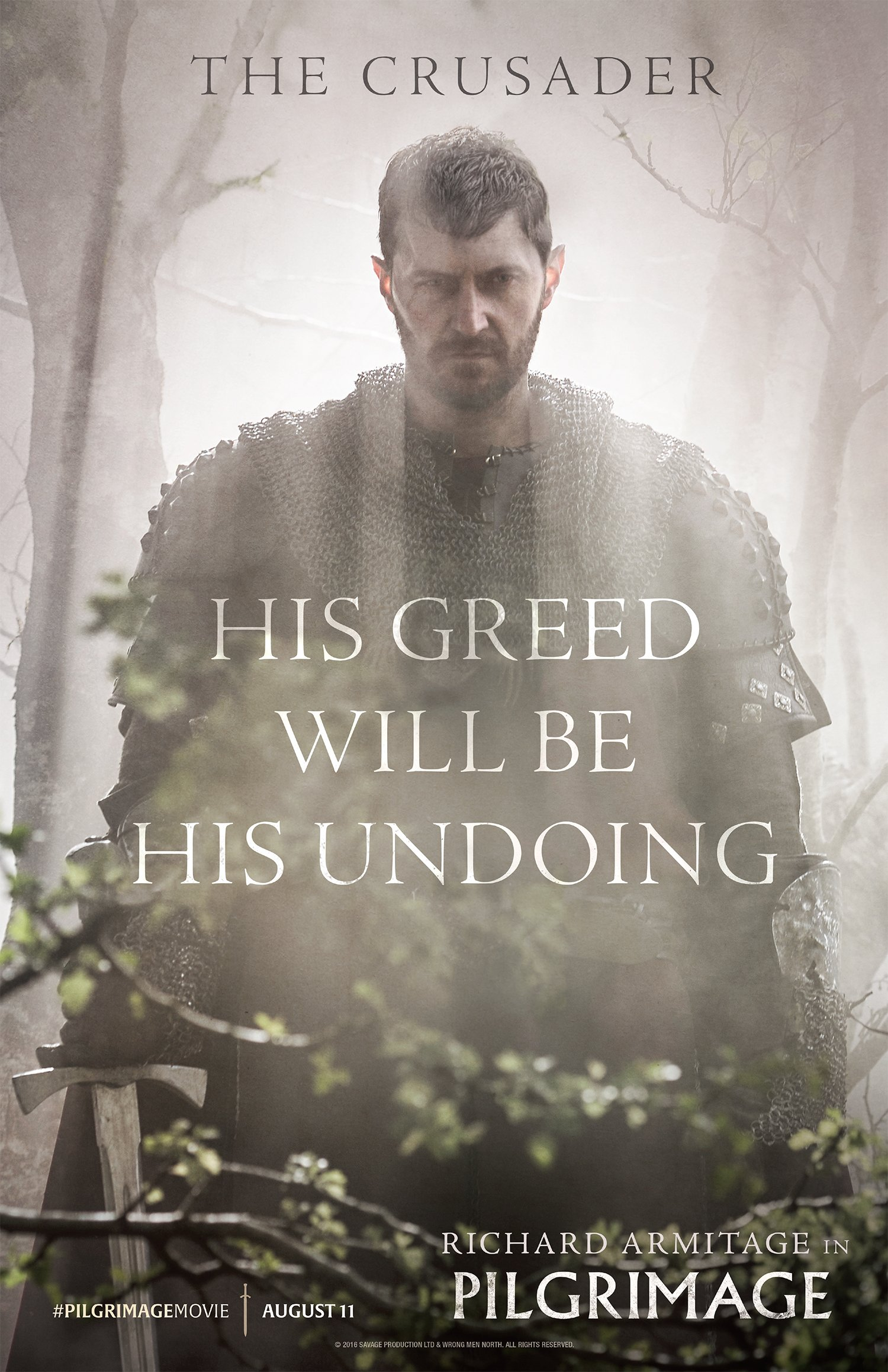 Richard Armitage in Pilgrimage
