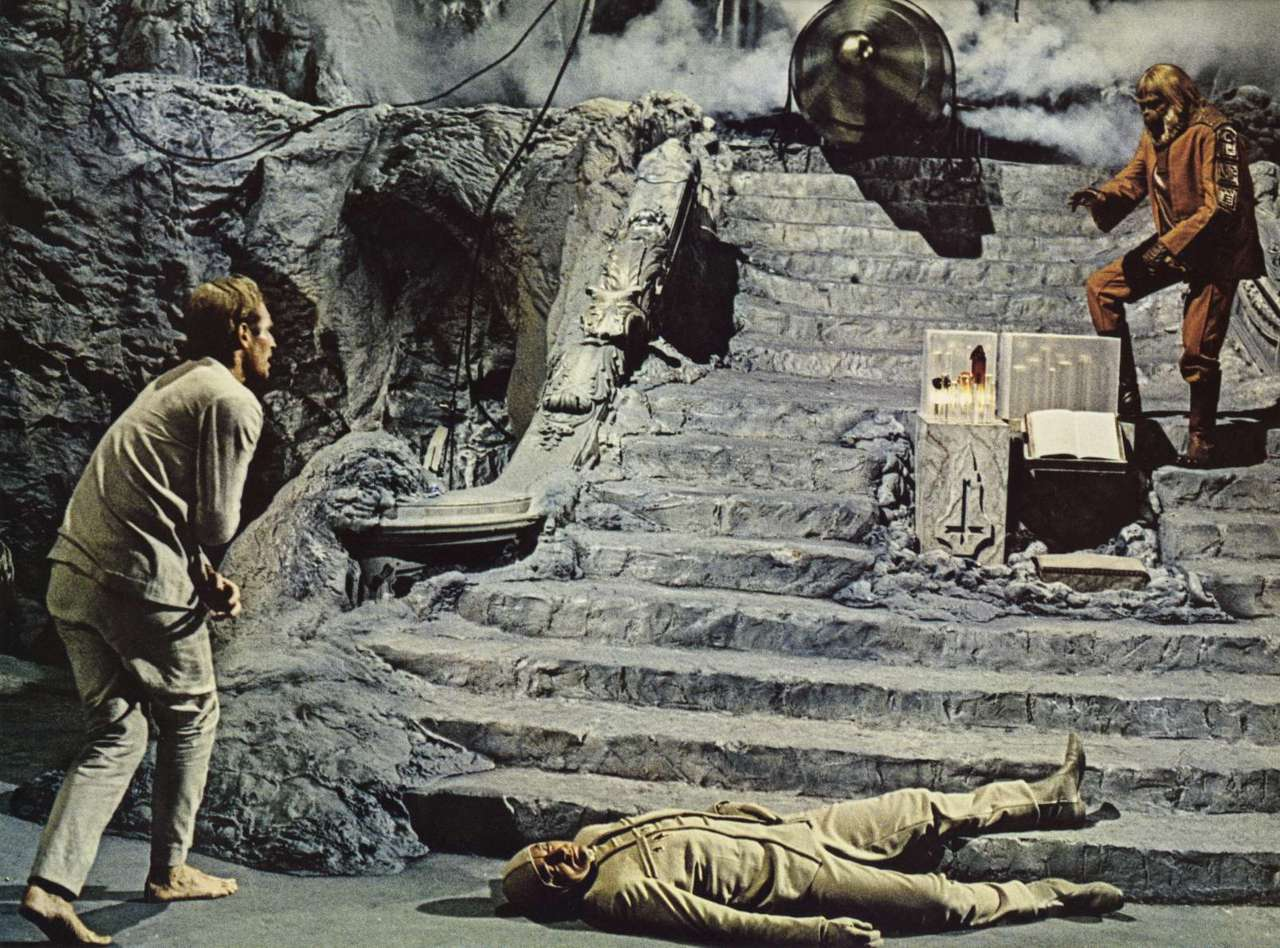 8. Beneath the Planet of the Apes (1970)