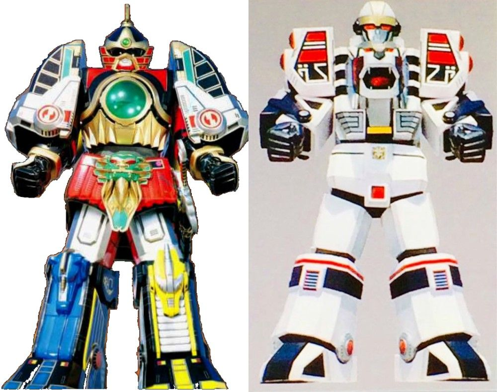 Uncategorized Robot From Power Rangers power rangers zords a guide to their mighty morphin giant robots season 2