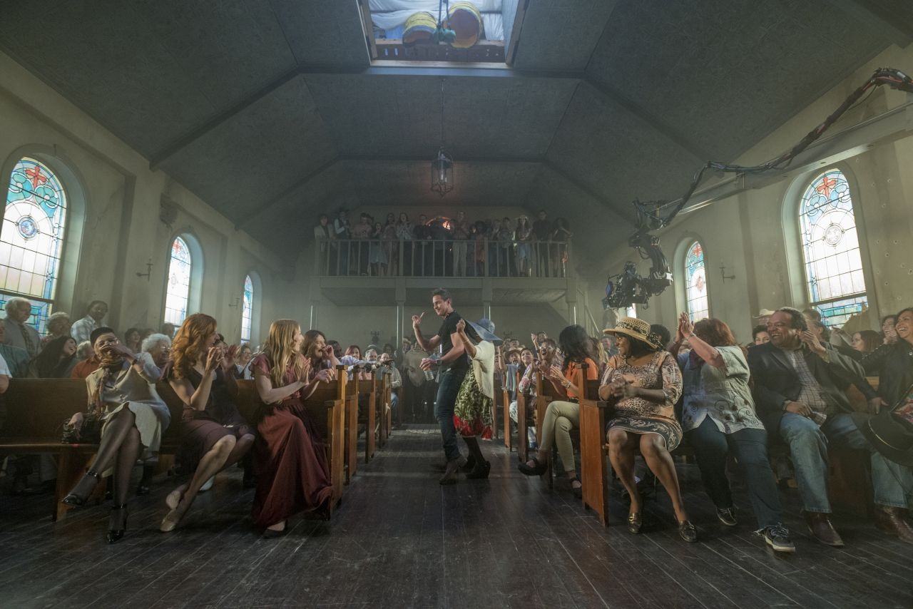 BTS - Preacher _ Season 1, Episode 9 - Photo Credit: Lewis Jacobs/Sony Pictures Television/AMC