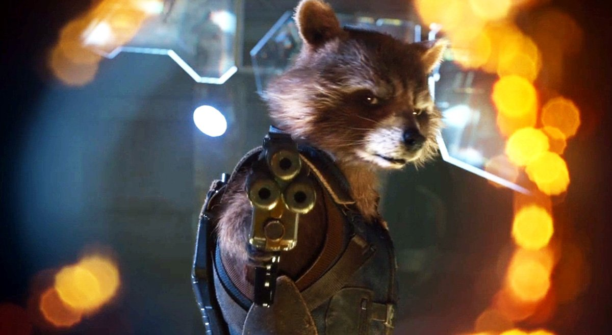 #8. Rocket Raccoon
