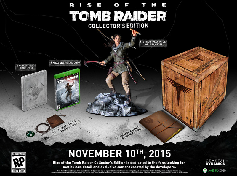 Rise of the Tomb Raider Collector's Edition