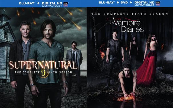The Vampire Diaries: The Complete Fifth Season and Supernatural: The Complete Ninth Season