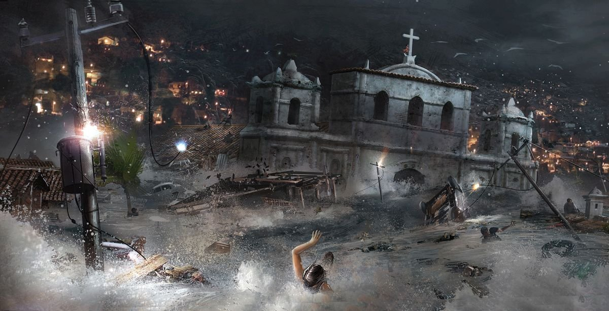 Shadow of the Tomb Raider concept art
