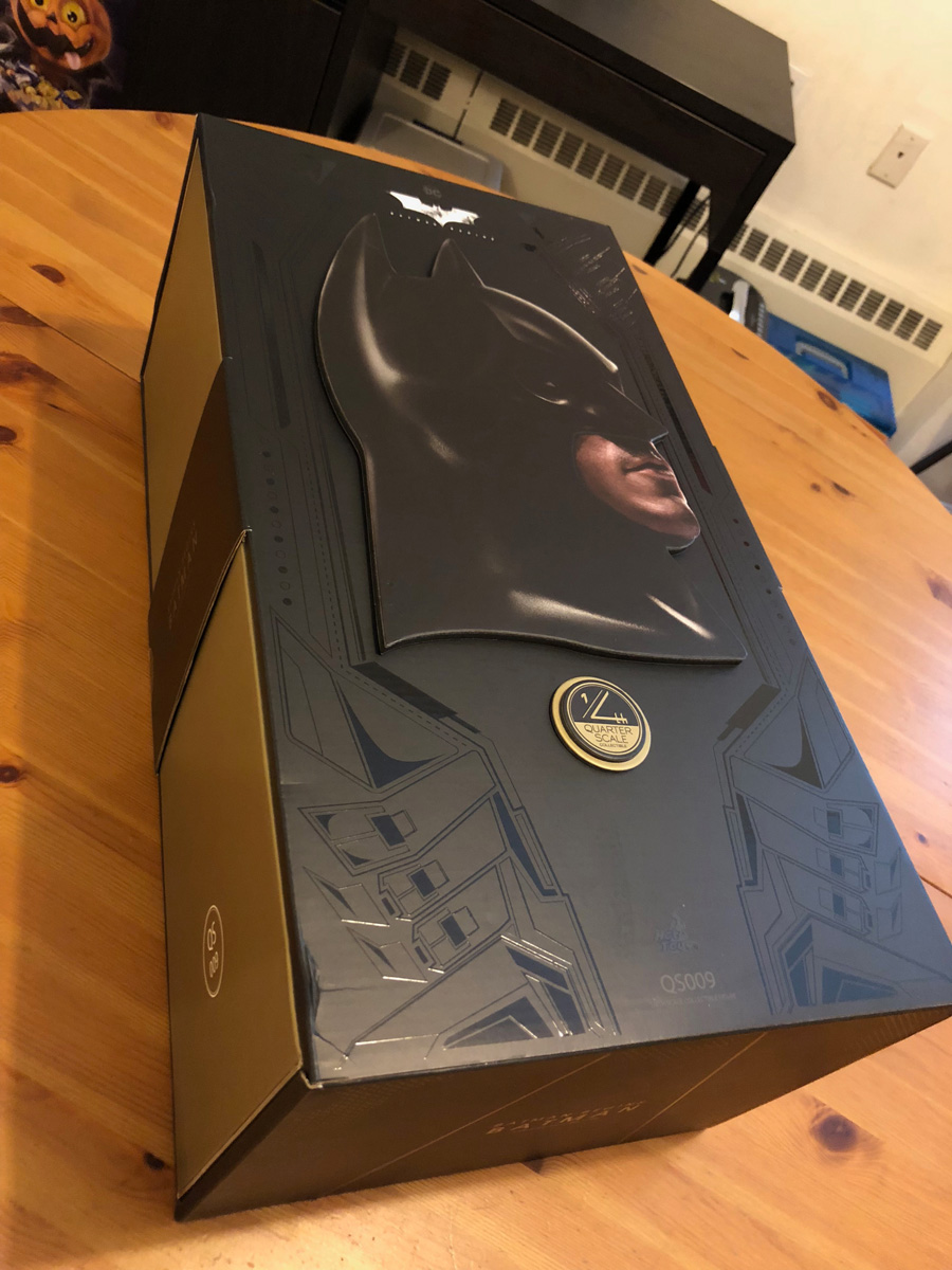 Batman Begins Hot Toys Figure