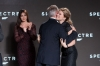 "Eon Productions, Metro-Goldwyn-Mayer and Sony Pictures Entertainment announce the 24th James Bond adventure "" SPECTRE. "" Pictured: (L to R) Sam Mendes and Léa Seydoux"