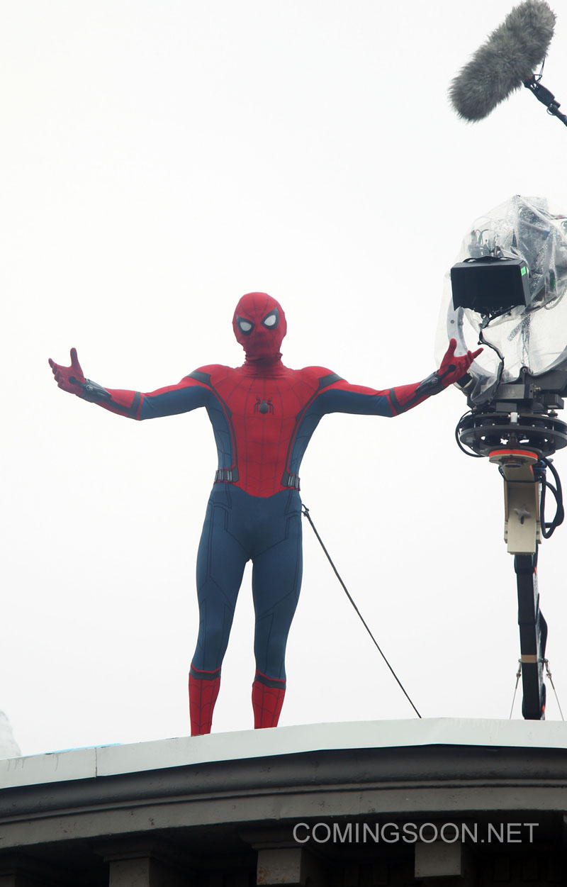Spider-Man: Homecoming New York Set