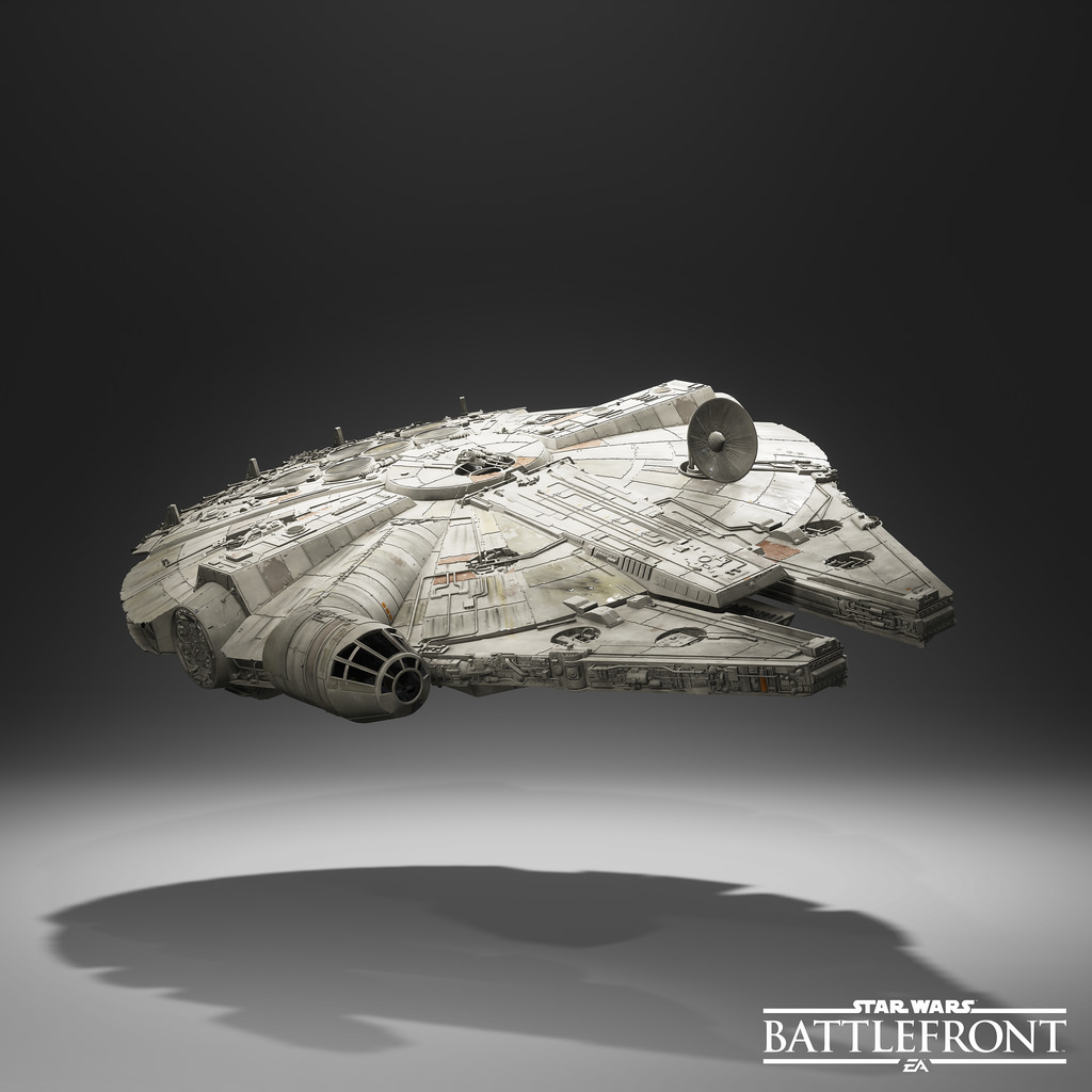 Star Wars: Battlefront Millennium Falcon