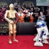 HOLLYWOOD, CA - DECEMBER 14: R2-D2 (L) and C-3PO attend the World Premiere of ?Star Wars: The Force Awakens? at the Dolby, El Capitan, and TCL Theatres on December 14, 2015 in Hollywood, California. (Photo by Alberto E. Rodriguez/Getty Images for Disney) *** Local Caption *** R2-D2;C-3PO