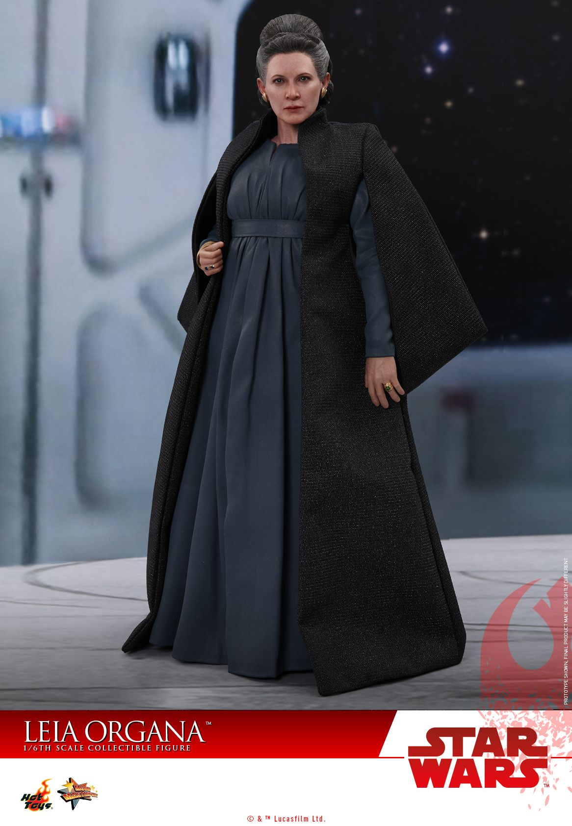 Leia Organa The Last Jedi Hot Toy