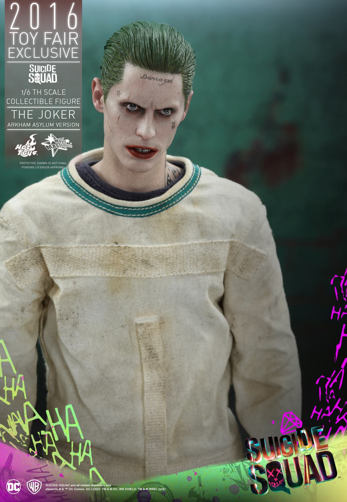 Suicide Squad Hot Toys - Joker (Arkham Version)
