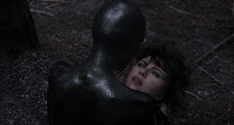 The Female in UNDER THE SKIN (2013)