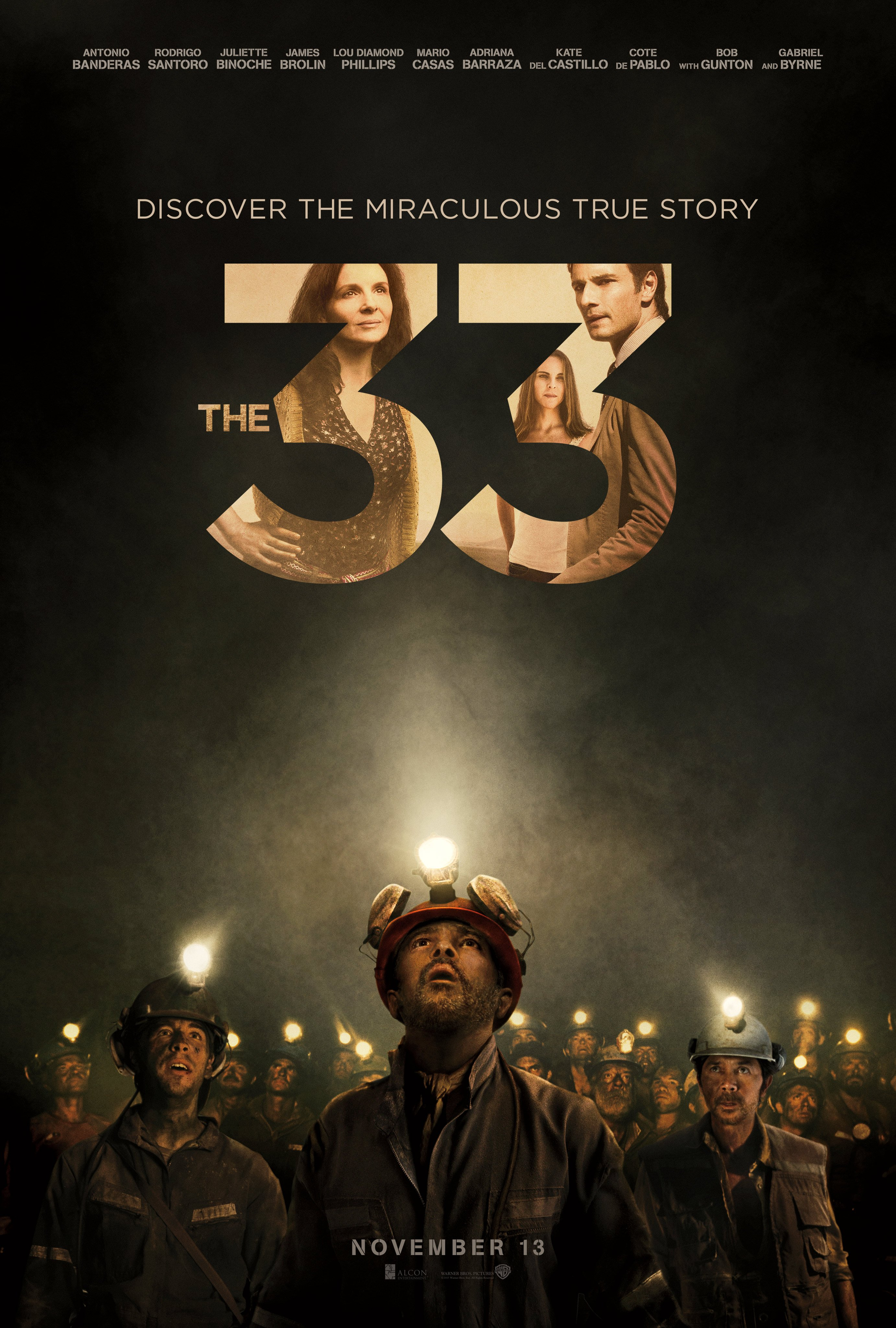 Chilean miner movie the 33 gets a new poster for Bureau 13 movie