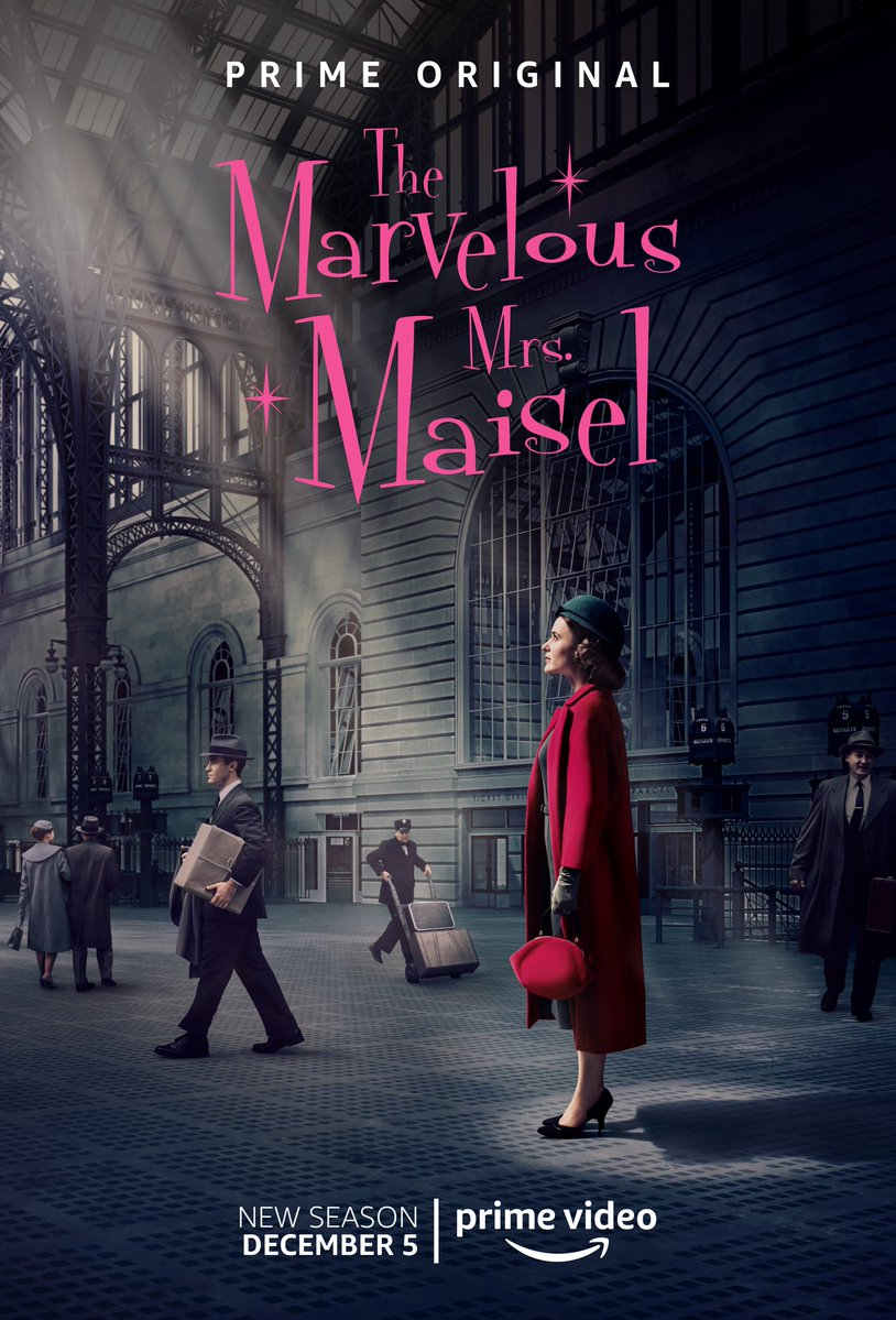 Image result for marvelous mrs maisel season 2 poster