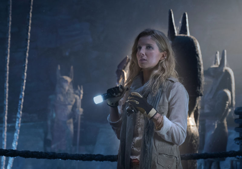 """ANNABELLE WALLIS as Jenny Halsey in a spectacular, all-new cinematic version of the legend that has fascinated cultures all over the world since the dawn of civilization: """"The Mummy.""""  From the sweeping sands of the Middle East through hidden labyrinths under modern-day London, """"The Mummy"""" brings a surprising intensity and balance of wonder and thrills in an imaginative new take that ushers in a new world of gods and monsters."""