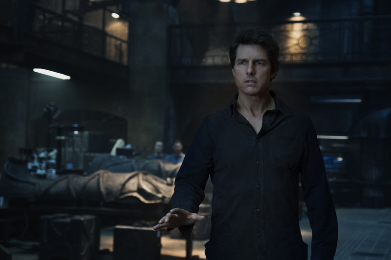 """TOM CRUISE headlines a spectacular, all-new cinematic version of the legend that has fascinated cultures all over the world since the dawn of civilization: """"The Mummy.""""  From the sweeping sands of the Middle East through hidden labyrinths under modern-day London, """"The Mummy"""" brings a surprising intensity and balance of wonder and thrills in an imaginative new take that ushers in a new world of gods and monsters."""