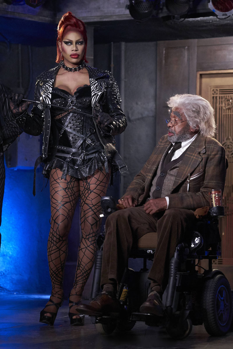 THE ROCKY HORROR PICTURE SHOW: L-R: Laverne Cox and Ben Vereen in THE ROCKY HORROR PICTURE SHOW coming this Fall to FOX. ©2016 Fox Broadcasting Co. Cr: Steve Wilkie/FOX