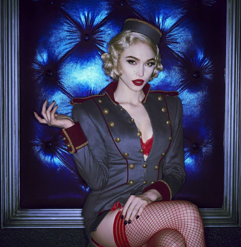 THE ROCKY HORROR PICTURE SHOW: LET'S DO THE TIME WARP AGAIN: Ivy Levan as Usherette in THE ROCKY HORROR PICTURE SHOW: LET'S DO THE TIME WARP AGAIN: Premiering Thursday, Oct. 20 (8:00-10:00 PM ET/PT) on FOX. ©2016 Fox Broadcasting Co. Cr: Steve Wilkie/FOX
