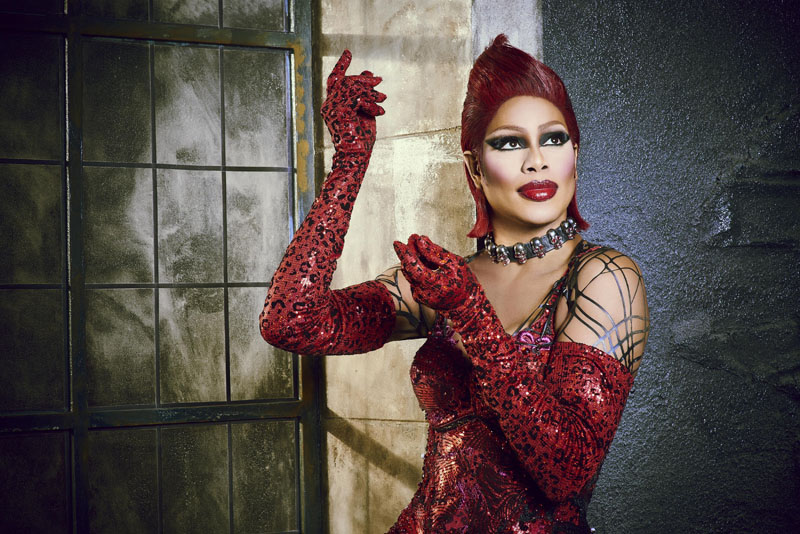 THE ROCKY HORROR PICTURE SHOW: LET'S DO THE TIME WARP AGAIN: Laverne Cox as Dr. Frank-N-Furter in THE ROCKY HORROR PICTURE SHOW: LET'S DO THE TIME WARP AGAIN: Premiering Thursday, Oct. 20 (8:00-10:00 PM ET/PT) on FOX. ©2016 Fox Broadcasting Co. Cr: Steve Wilkie/FOX