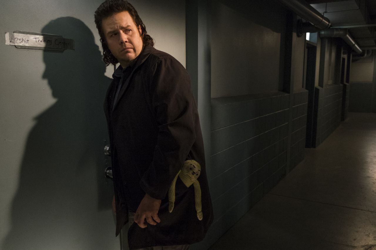 Josh McDermitt as Dr. Eugene Porter - The Walking Dead _ Season 7, Episode 15 - Photo Credit: Gene Page/AMC