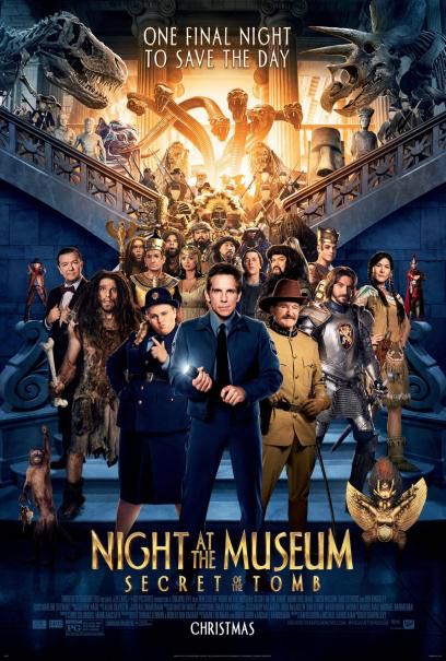 #3 Night at the Museum: Secret of the Tomb (Fox)
