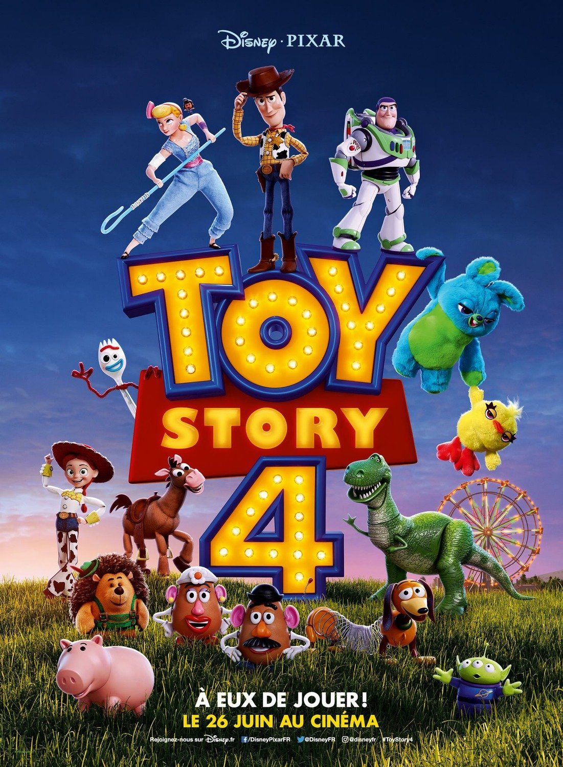 The Team Is Back In A New Toy Story  International Poster