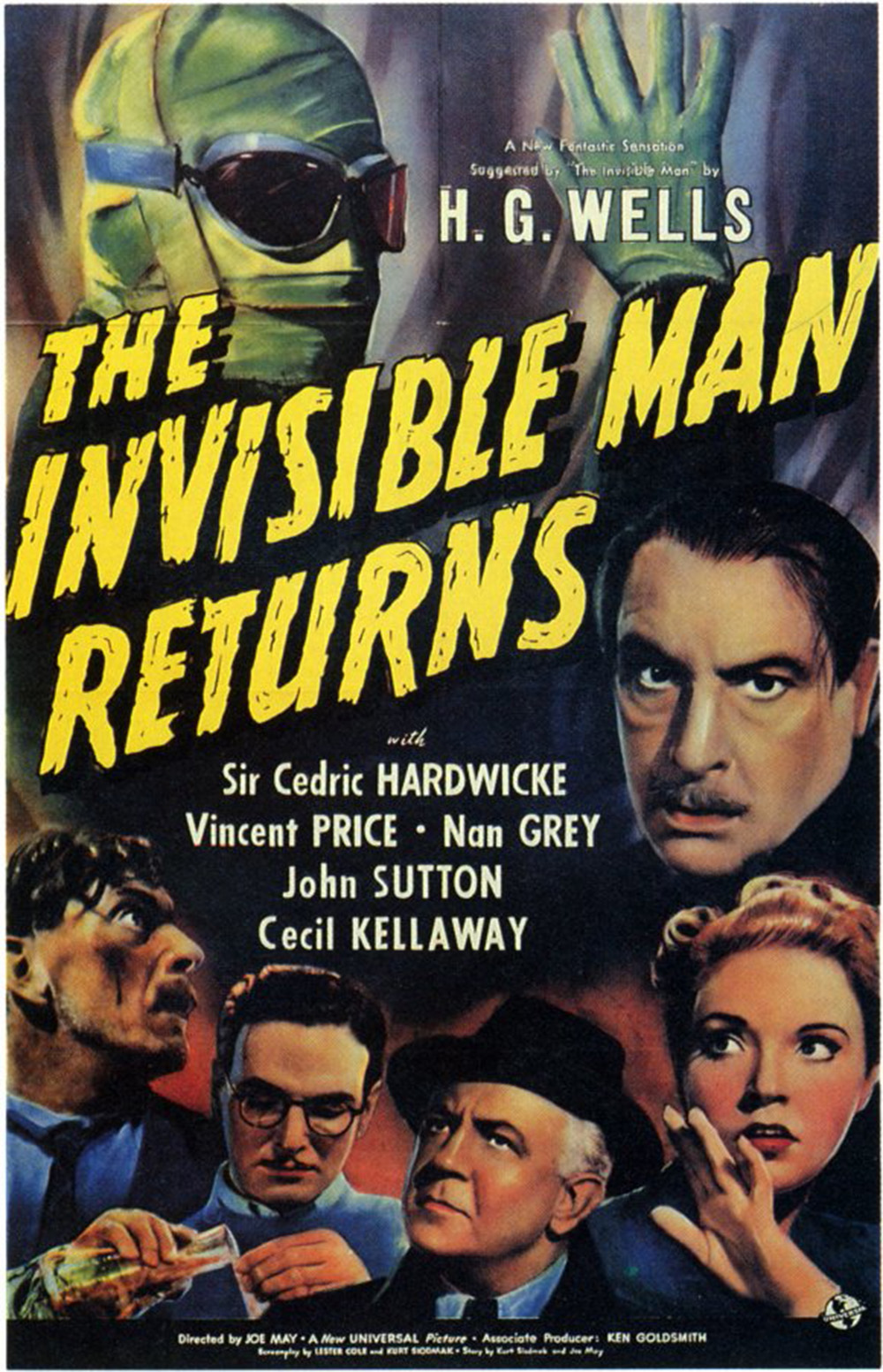 The Invisible Man Returns - 1940