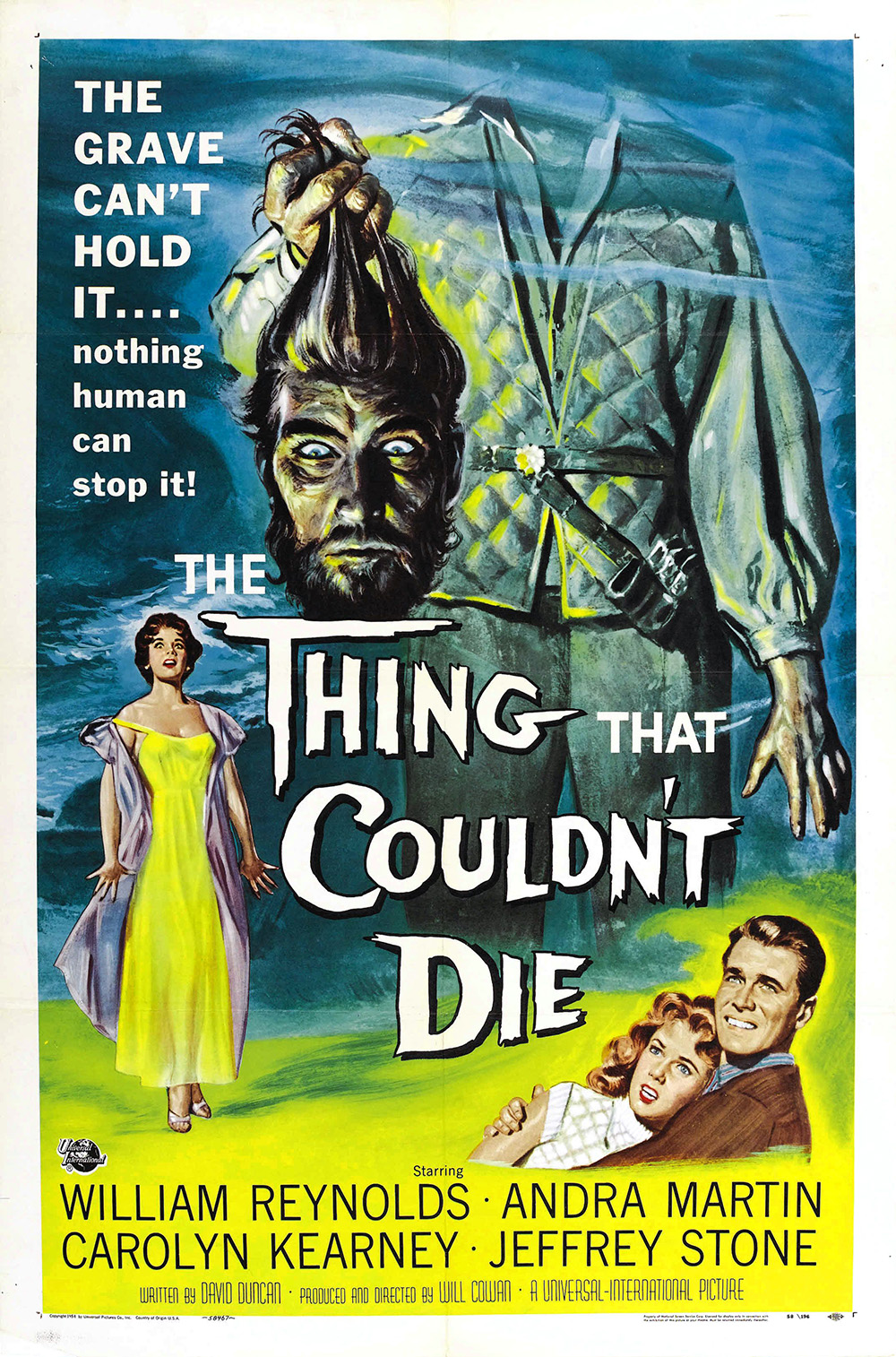 The Thing That Couldn't Die - 1958