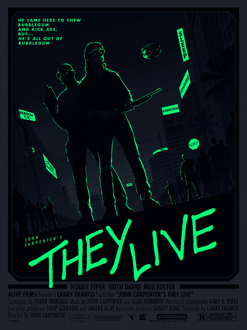 Matt Ferguson, They Live (glow)