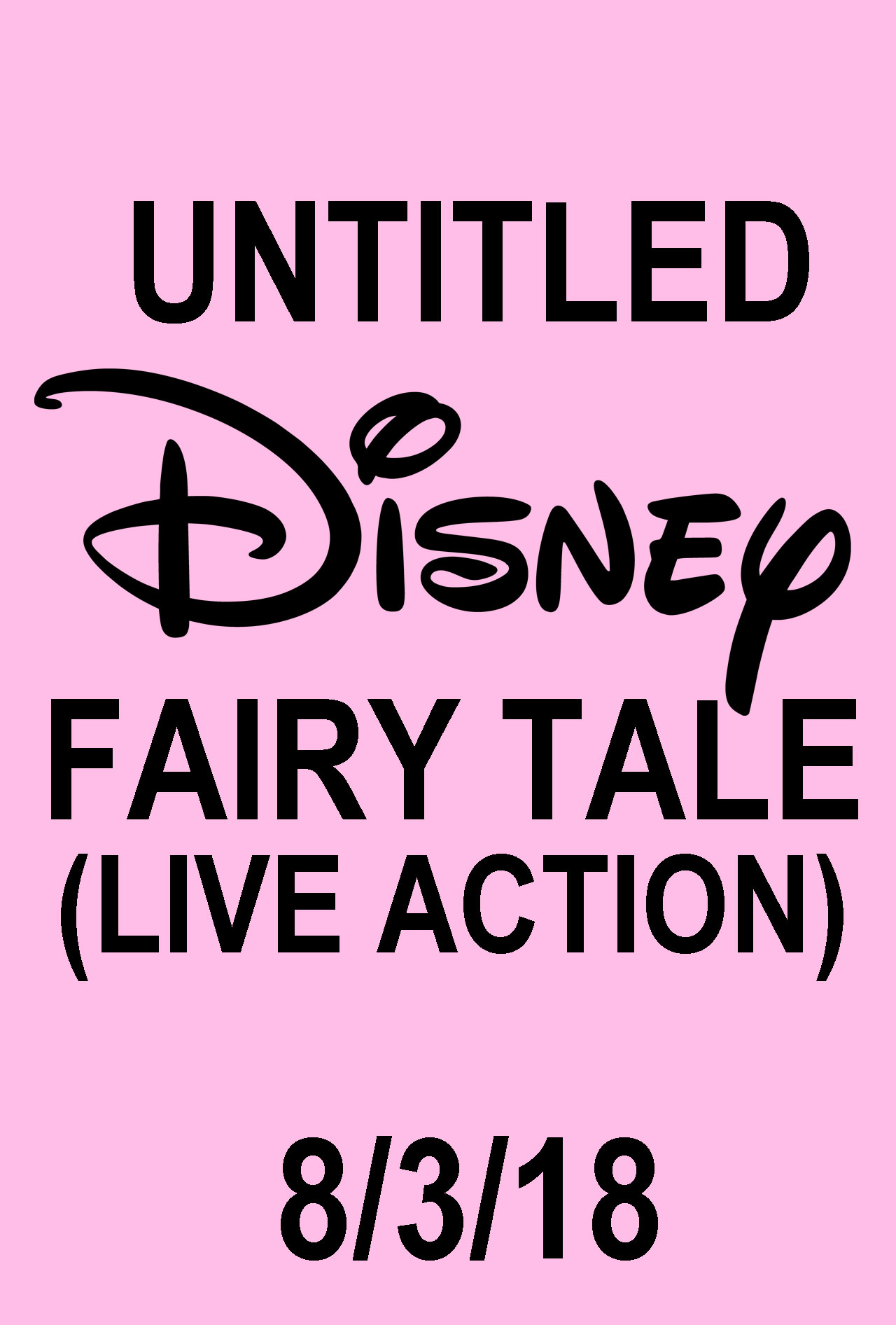 Untitled Disney Fairy Tale (Live Action)