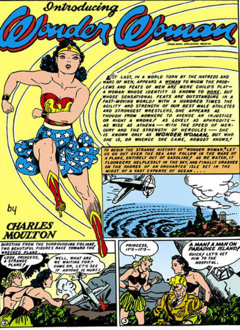 Wonder Woman's First Appearance