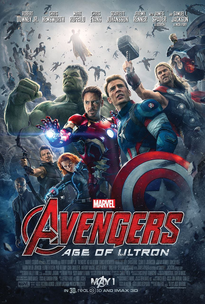#1 Avengers: Age of Ultron (Marvel/Disney)